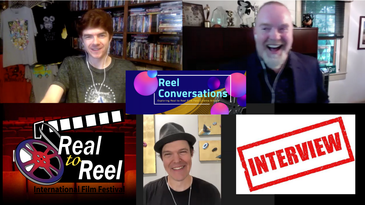 Reel Conversations with Real to Reel Film Fest Founders Will Eskridge & Noel T. Manning II Poster