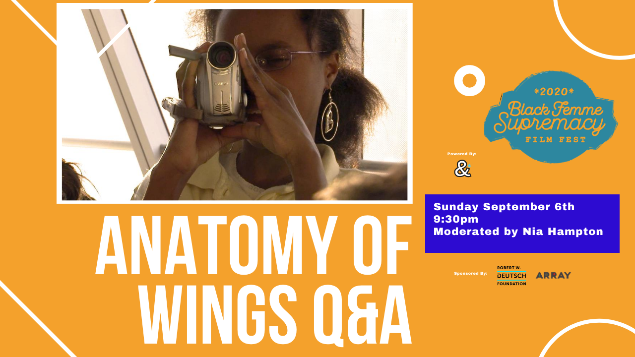 Anatomy of Wings Q+A Poster