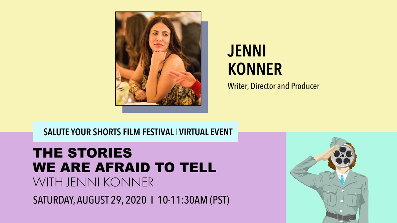 The Stories We Are Afraid to Tell with Jenni Konner Poster