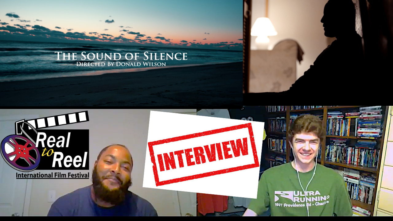 Reel Conversations with writer, actor and director  Donald Wilson of the Sound of Silence Poster