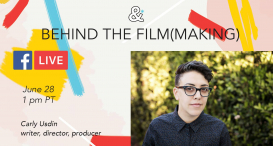 FB Live: Behind the Film(making) with Carly Usdin