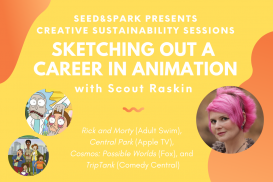 Creative Sustainability Session: Sketching Out a Career in Animation